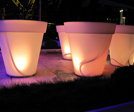 Outdoor Planter Lights
