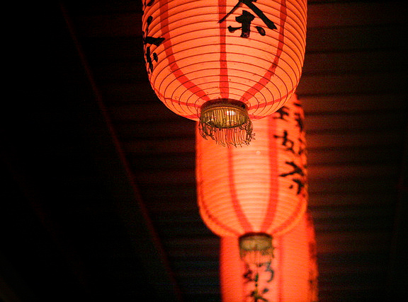 Chinese lanterns are a staple lighting fixture at a chinese restaurant & Restaurant Lighting Gallery | Lights and Lights azcodes.com