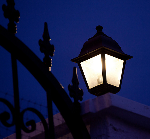 gate lantern