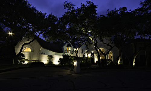 a homeowners guide to driveway lighting the 3 areas to. Black Bedroom Furniture Sets. Home Design Ideas