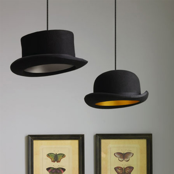 British Hat Lamp