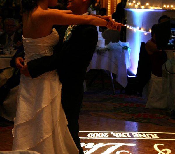 Wedding First Dance Lighting