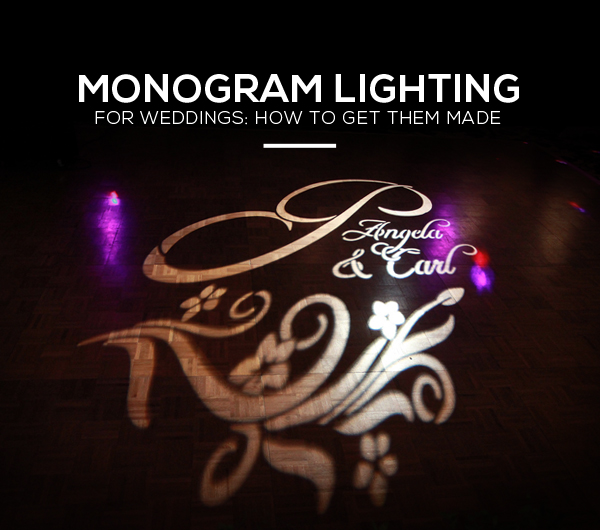 Wedding Monogram Lighting