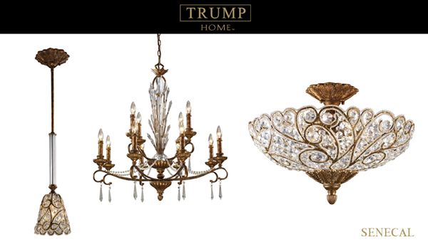 Luxury Lighting Profile The Trump Home Collection Lights