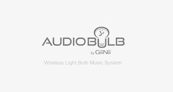 The AudioBulb Logo