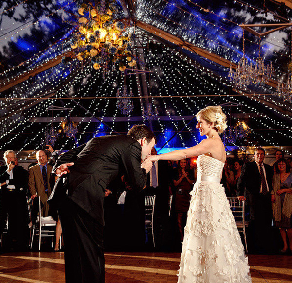 Tent Wedding Lighting Ideas