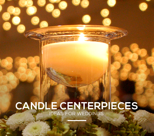 Wedding Candle Centerpiece Ideas