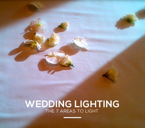 Wedding Lighting Areas