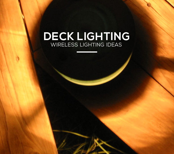 wireless deck lighting ideas - Deck Lighting Ideas