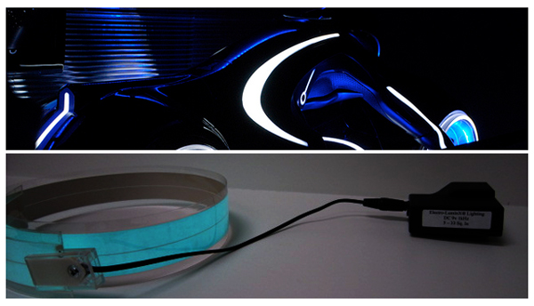 Light Tape and Tron Light Cycle