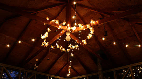 L&L LOOK BOOK: Beautiful Uses Of Outdoor String Lights [Lighting Ideas Photo Gallery] Lights ...
