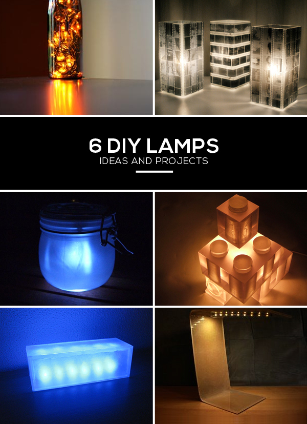 DIY Lamp Ideas Projects