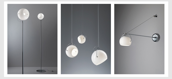 the Beluga White designer lighting collection