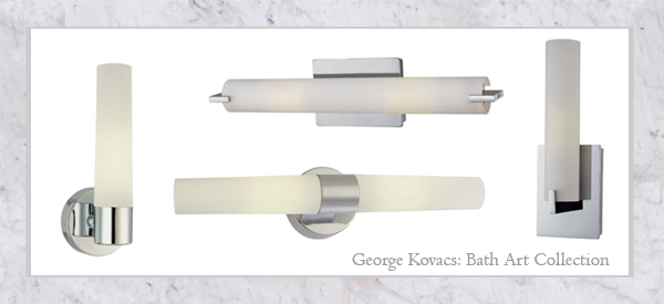 George Kovacs Bathroom Lighting Designer Profile George Kovacs Bathroom Lighting  Lights And Lights