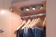 Guide To Closet Lighting Ideas: Fixtures, Ikea And Wireless Options |  Lights And Lights