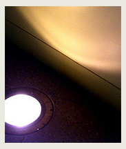 recessed floor light