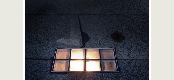 recessed floor lights