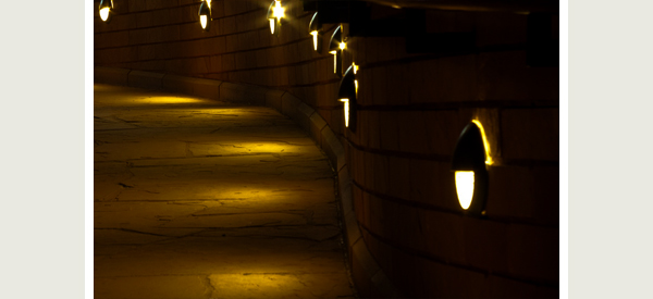 Outdoor Pathway Lighting Ideas From Post Lights To String