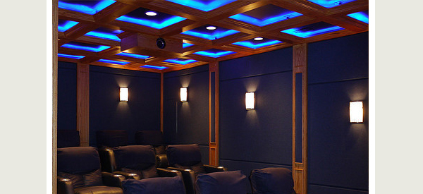 home theater cove lighting