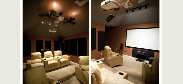 home theater lighting picture