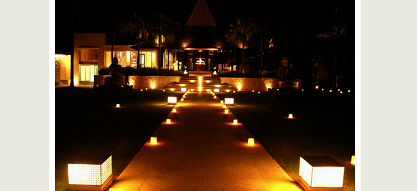 Outdoor Pathway Lighting Ideas: From Post Lights To String and Tiki Torches : Lights and Lights