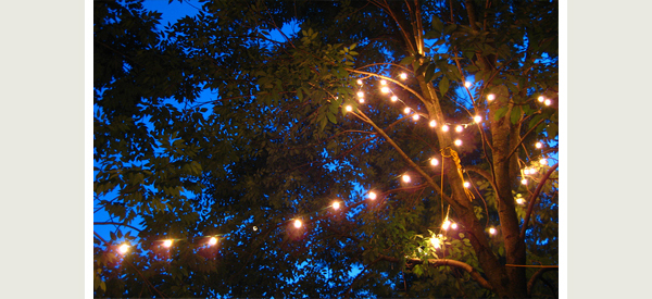 L l guide on romantic lighting ideas from the bedroom to for How to hang string lights on trees