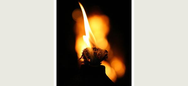 tiki torch