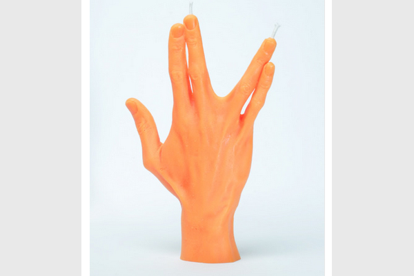 Hand Gesture Candle