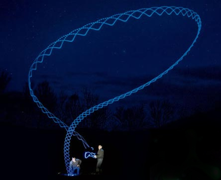 LED Boomerang
