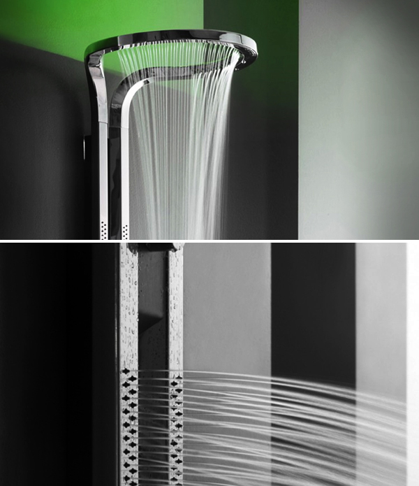 Luxury LED Shower