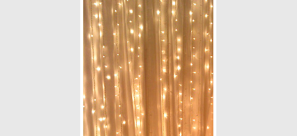 curtain of lighting