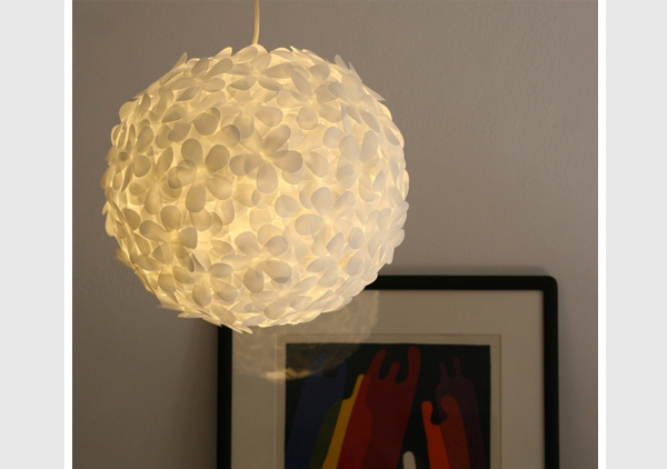 flower punch paper lantern