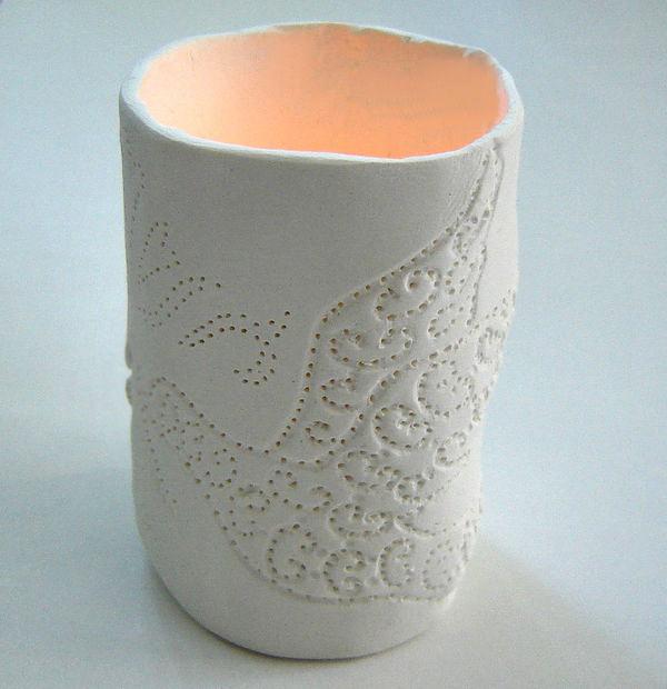 Air Dry Clay Lanterns