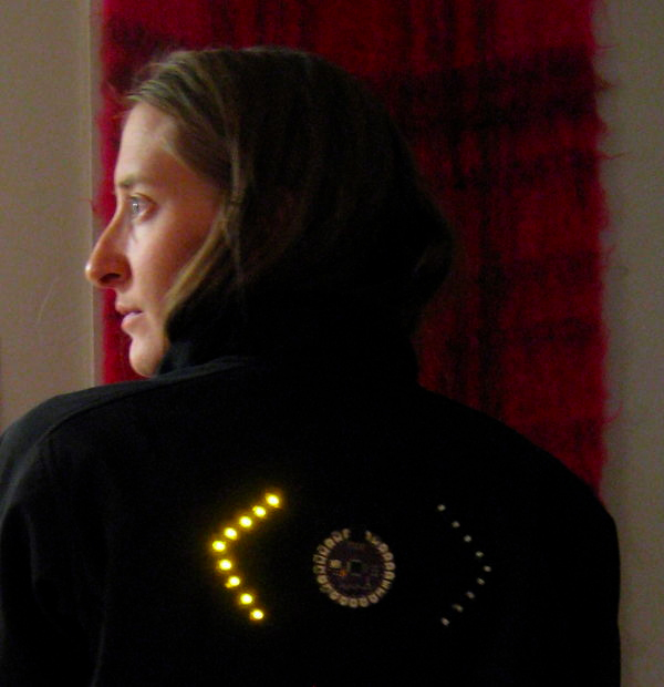 Biking Jacket Lights