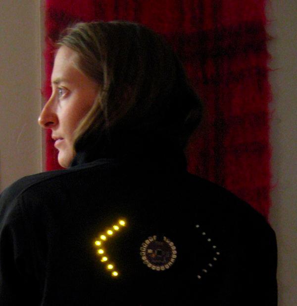 Biking Jacket Lights