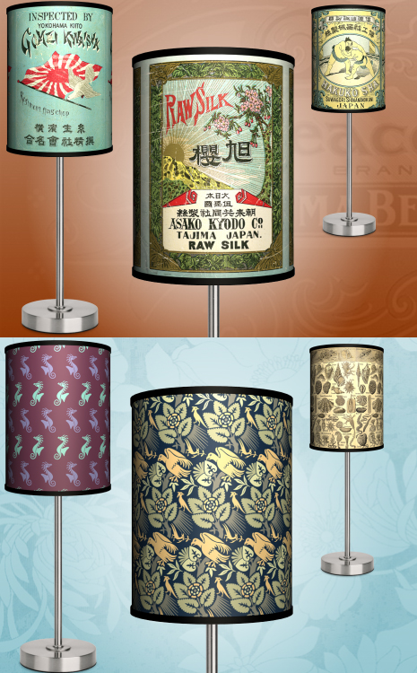 Design and make your own lamp shades online lights and for Decorate your own lampshade