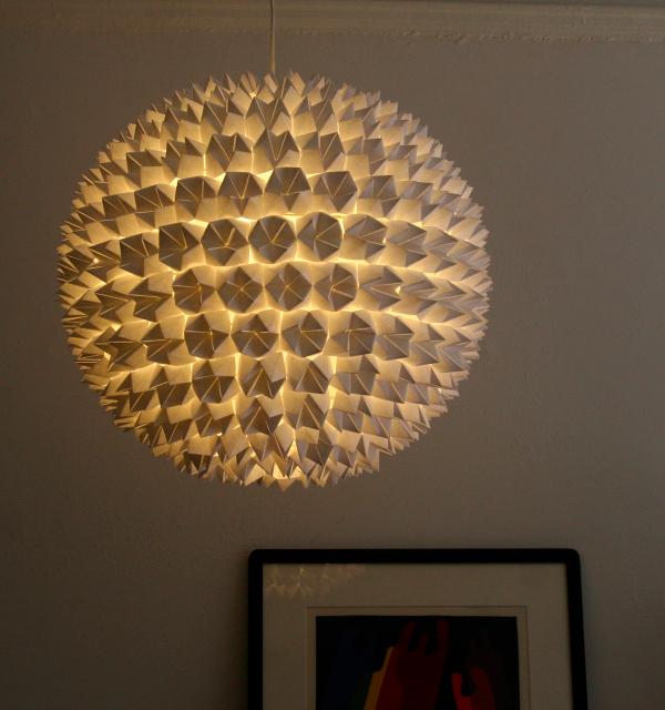 Marvelous DIY Paper Fortune Light