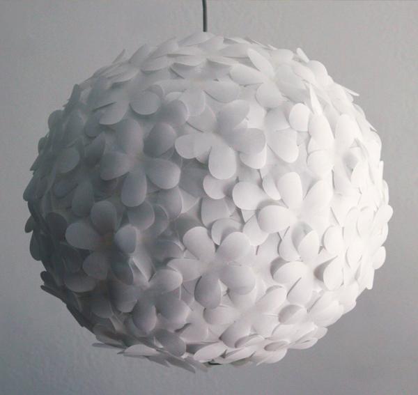 Paper punch paper lantern flower light lights and lights diy paper lantern lamp mightylinksfo