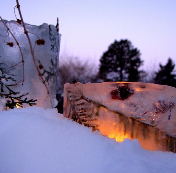 Ice Candle Lanterns
