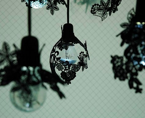 Lace SculpturesBrownehsiehs Pendant Lights Lights and Lights