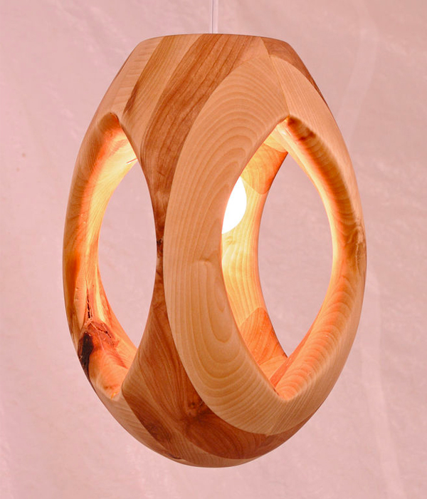 Lumitourni Wooden Light
