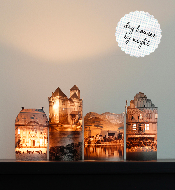 Paper Town Lamps