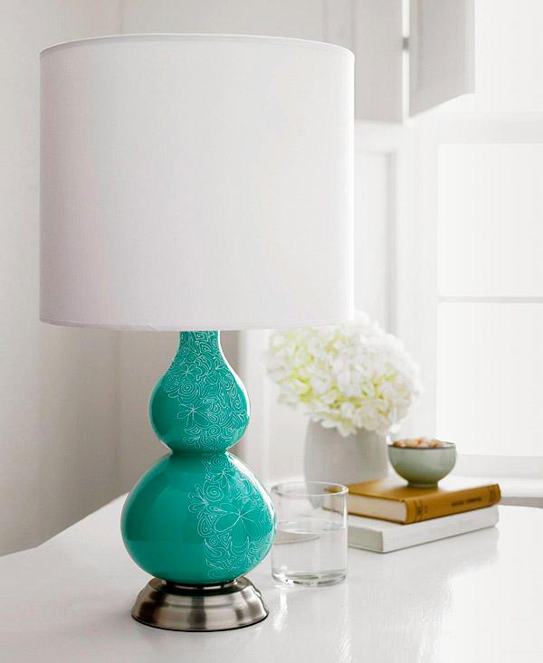 Sharpie Doodle Lamp