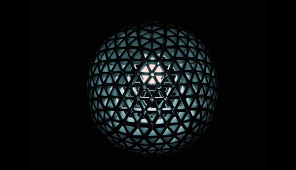 Tetra PaK Sphere Light