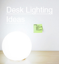 desk lighting ideas