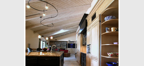 kitchen track lighting