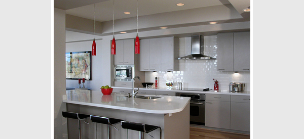 L Kitchen Breakfast Bar Lighting Ideas Picture Guide