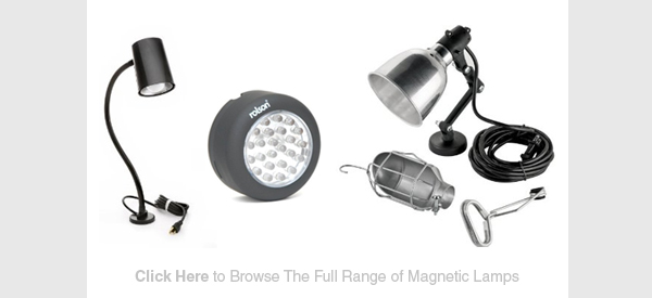 magnetic work lamps