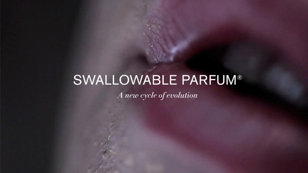 swallowable perfume