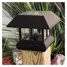 solar cap light